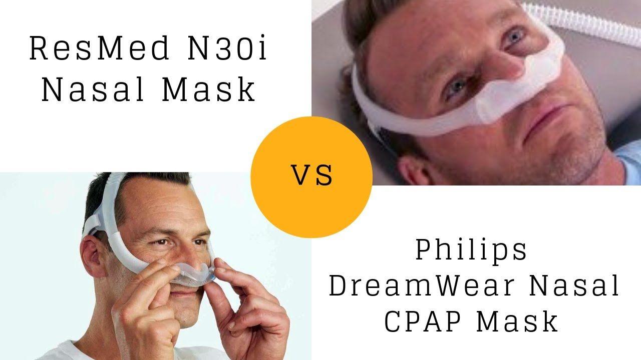 resmed n30i nasal mask vs philips