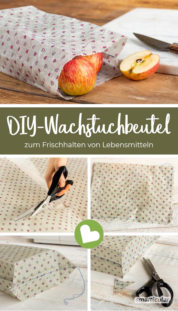 Photo of Wachstuchbeutel einfach selber machen – Diy Projekt