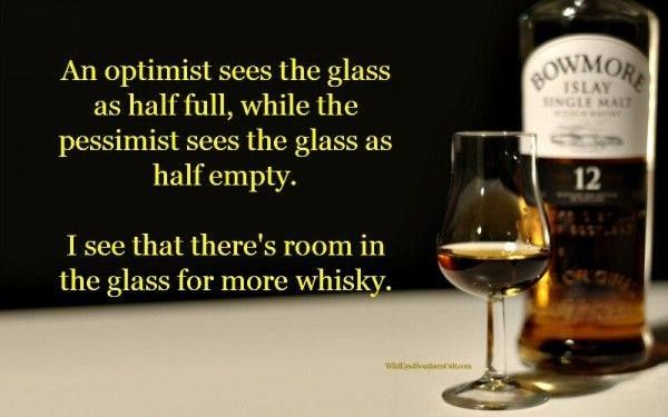 Room In The Glass For More Whisky--it's All That Matters