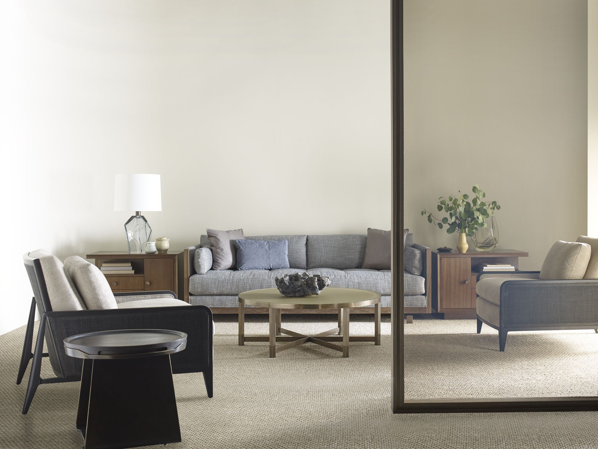Barbara barry for baker furniture modern square coffee