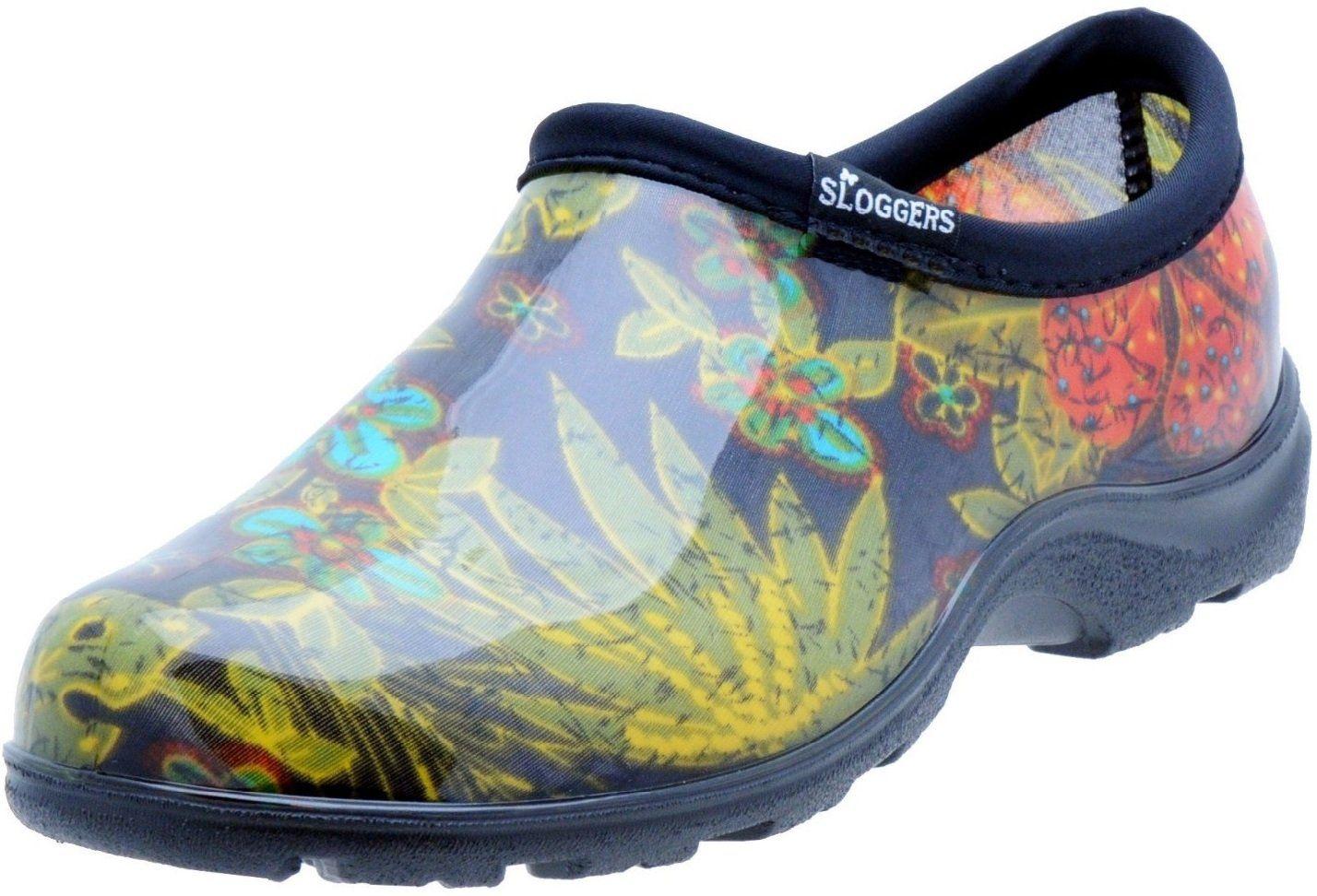 Sloggers 5102bk10 Women S Garden Shoes Midsummer Black Size 10