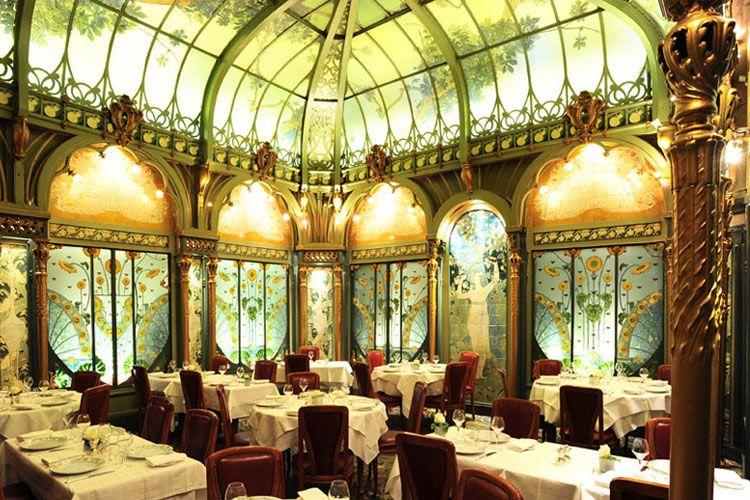 stunning belle epoque restaurant in paris champs elysees restaurants and france. Black Bedroom Furniture Sets. Home Design Ideas