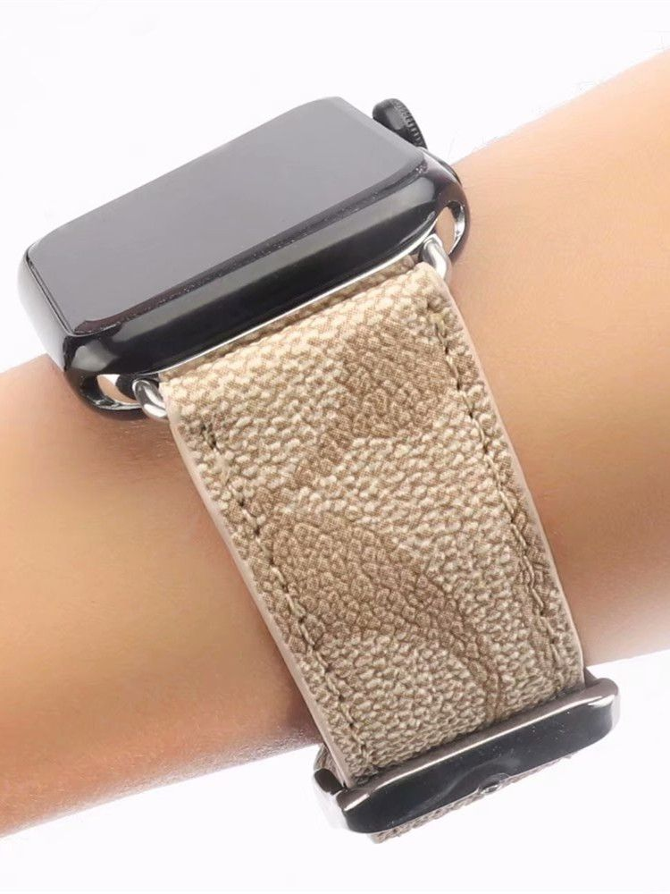 Fashion PU Leather Apple Watch Band Replacement Strap