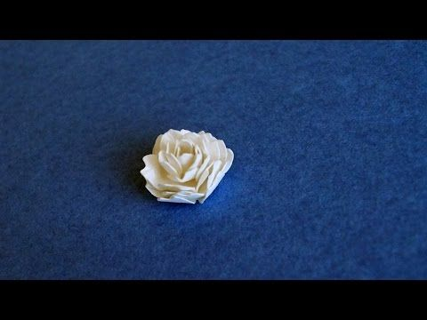Make a beautiful tiny paper flower diy crafts guidecentral make a beautiful tiny paper flower diy crafts guidecentral youtube mightylinksfo