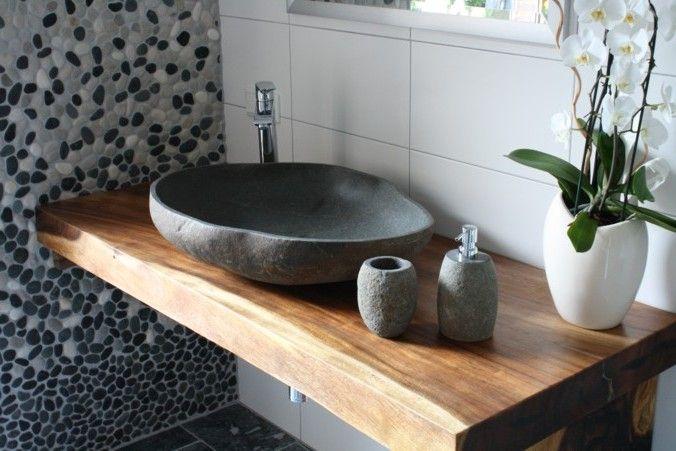 bildergebnis f r steinwaschbecken badezimmer pinterest. Black Bedroom Furniture Sets. Home Design Ideas