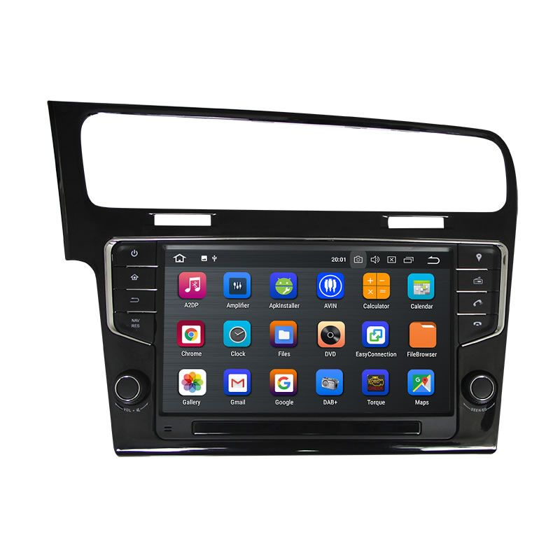 VW Volkswagen Golf 7 20132017 Android 8.1 Car Stereo with