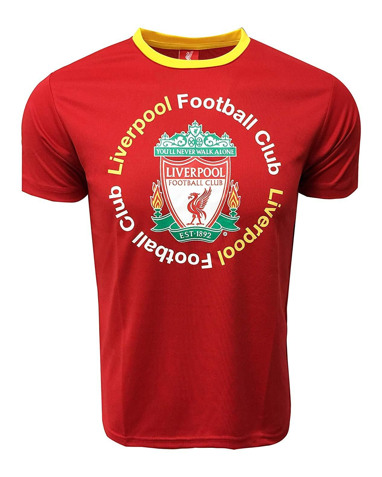 a9a8e3d7252 Icon Sports Youth Liverpool Training Shirt | DD6H-07 | Liverpool FC ...