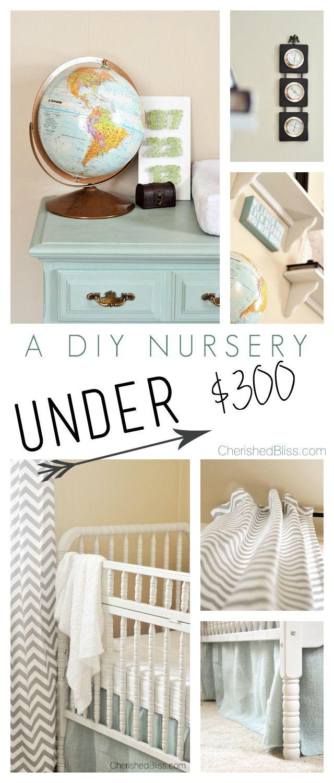 DIY Nursery on a Budget | Budget nursery, Baby boy ...
