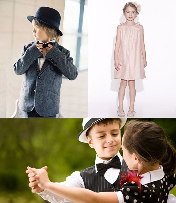 Ideas para vestir a los pajes en tu boda | Wedding ideas | Pinterest ...