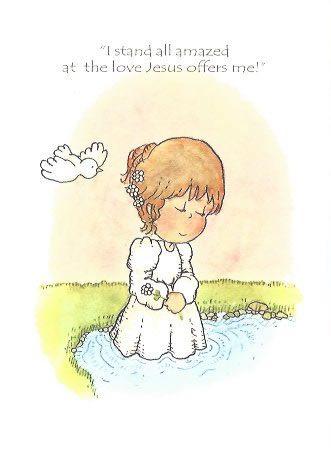 Lds Baptism Congratulations Card Lds Baptism Greeting Card I Stand All Amazed Girls Baptism Greeting Lds Baptism Baptism Greetings Baptism Girl