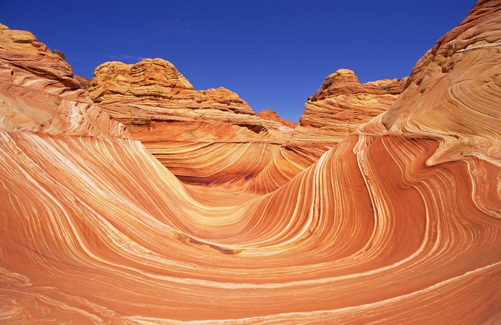 The Wave In The Coyote Buttes Of Vermilion Cliffs National