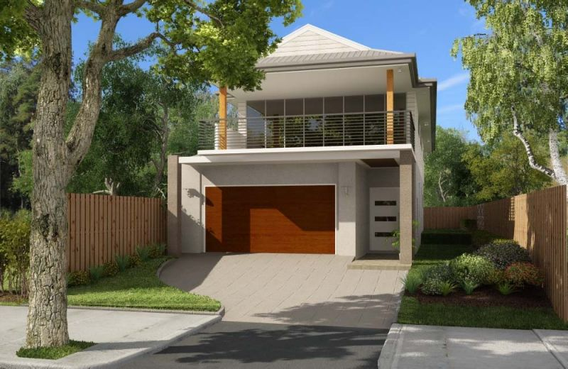 2 Storey Homes Designs For Small Blocks For The Home Pinterest