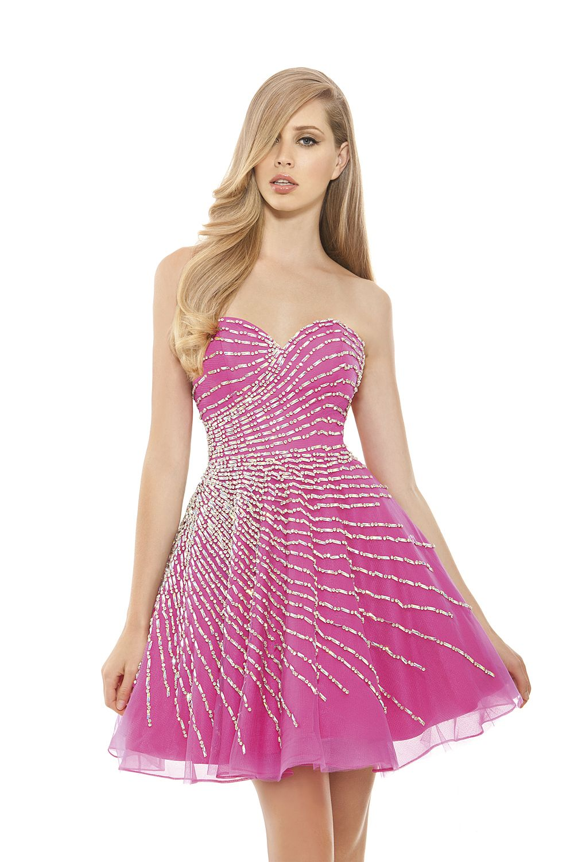 Magnífico Vestido De Fiesta Philadelphia Elaboración - Colección del ...