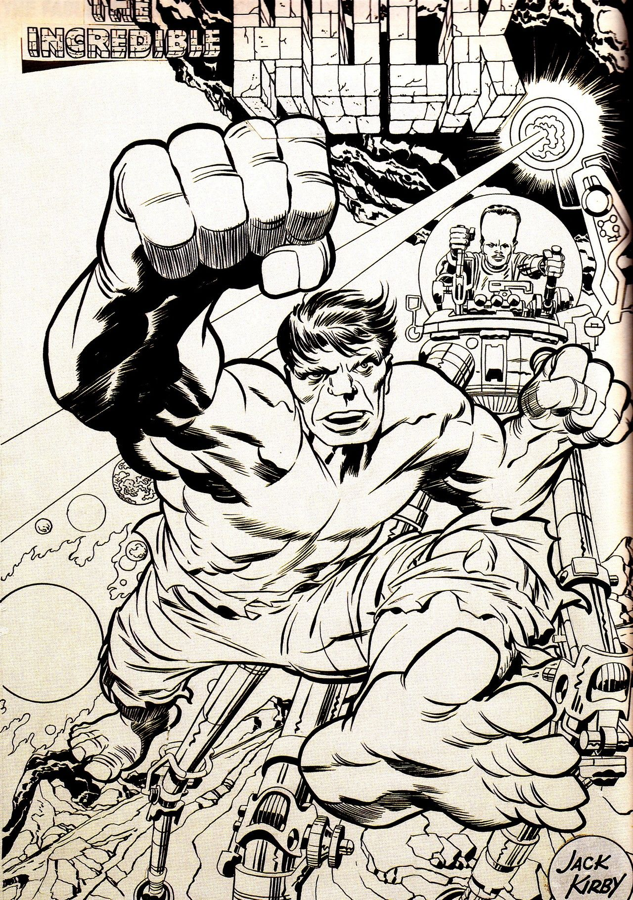 I Learned How To Draw Perspective By Studying The Master Jack Kirby