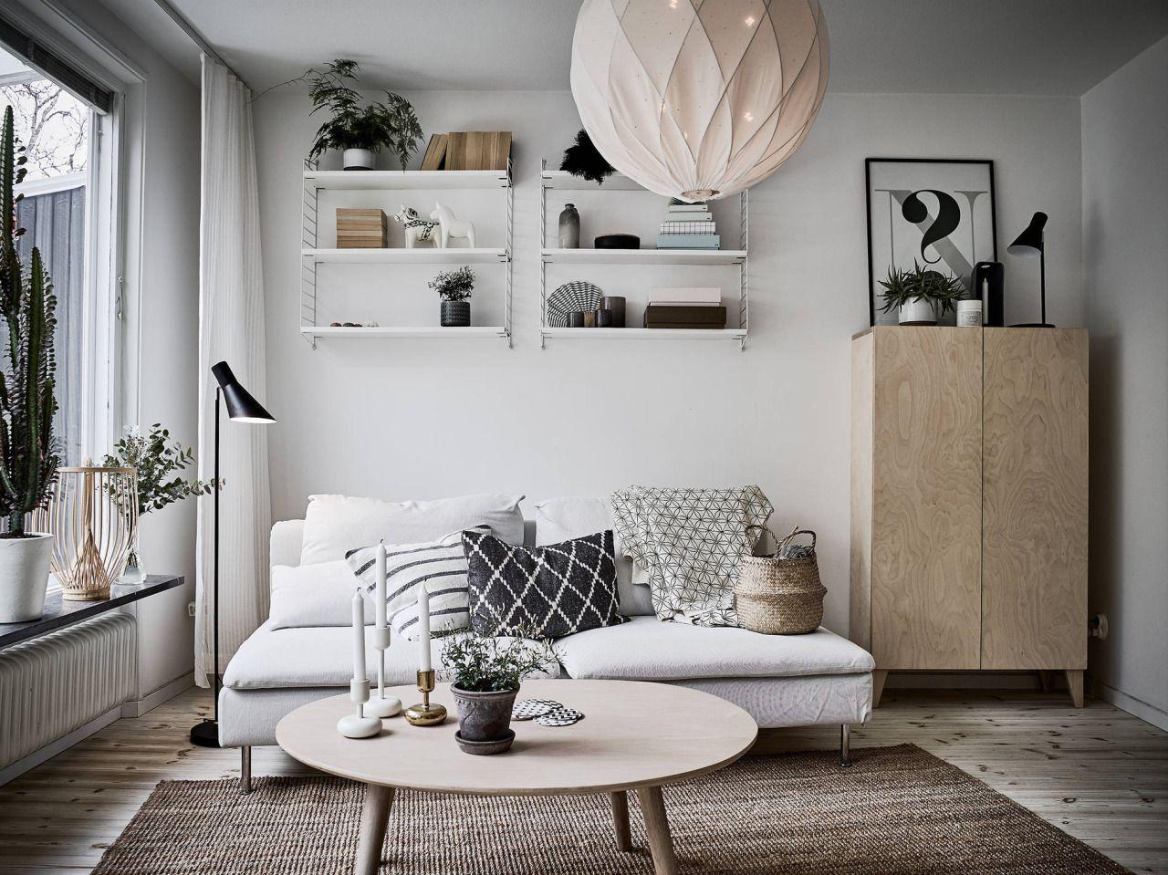 Ikea Wohnzimmer Skandinavisch Home Living Room Interior