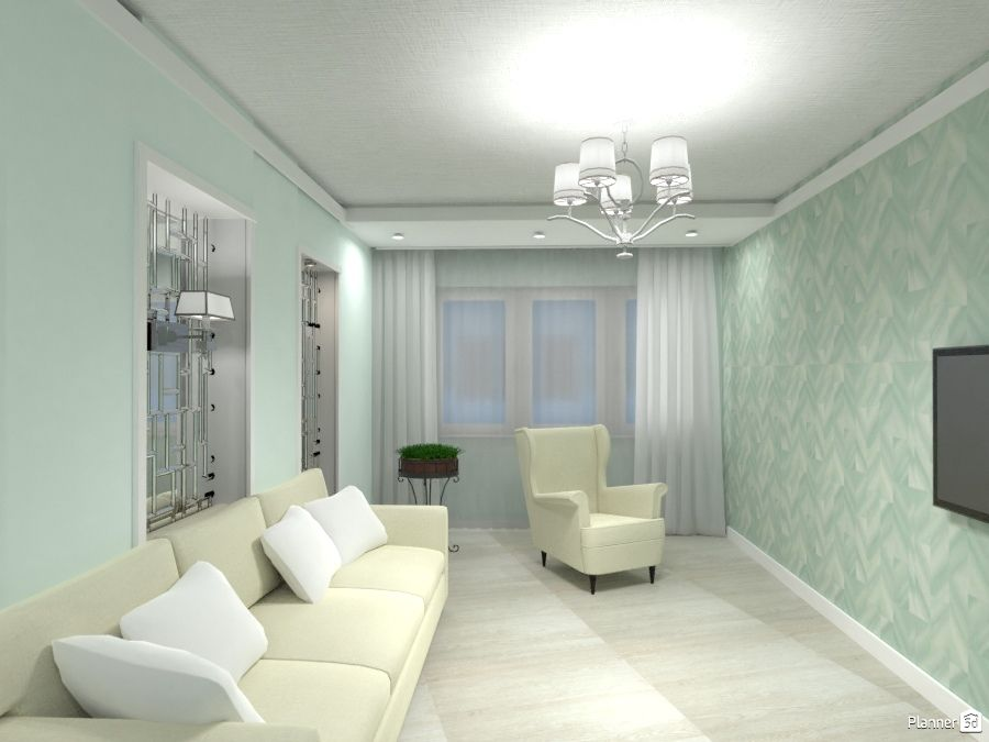 Mint Living Room Interior Planner 5d Mint Living Rooms Design