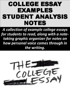 College Application Essay Introductory Packet College - college essays
