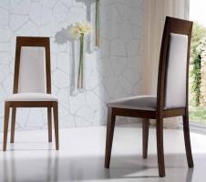 sillas bases tapizadas para comedor