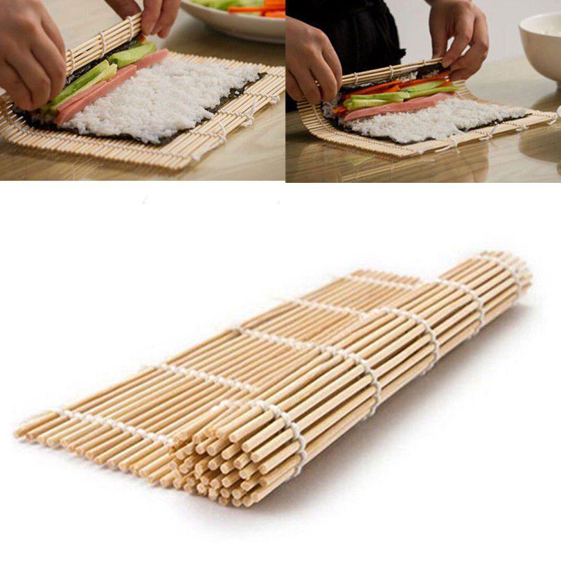 Sushi Kimbap Rolling Maker Bamboo Material Roller Mat Db Kimbap Sushi Bamboo
