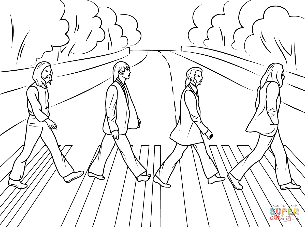 free coloring pages road - photo#27