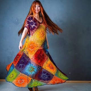 Ergahandmade colorful crochet dress diagrams szydeko ergahandmade colorful crochet dress diagrams ccuart Image collections