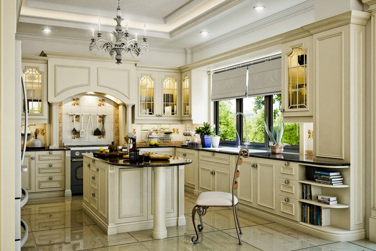 Interior Design Styles Classic kitchen