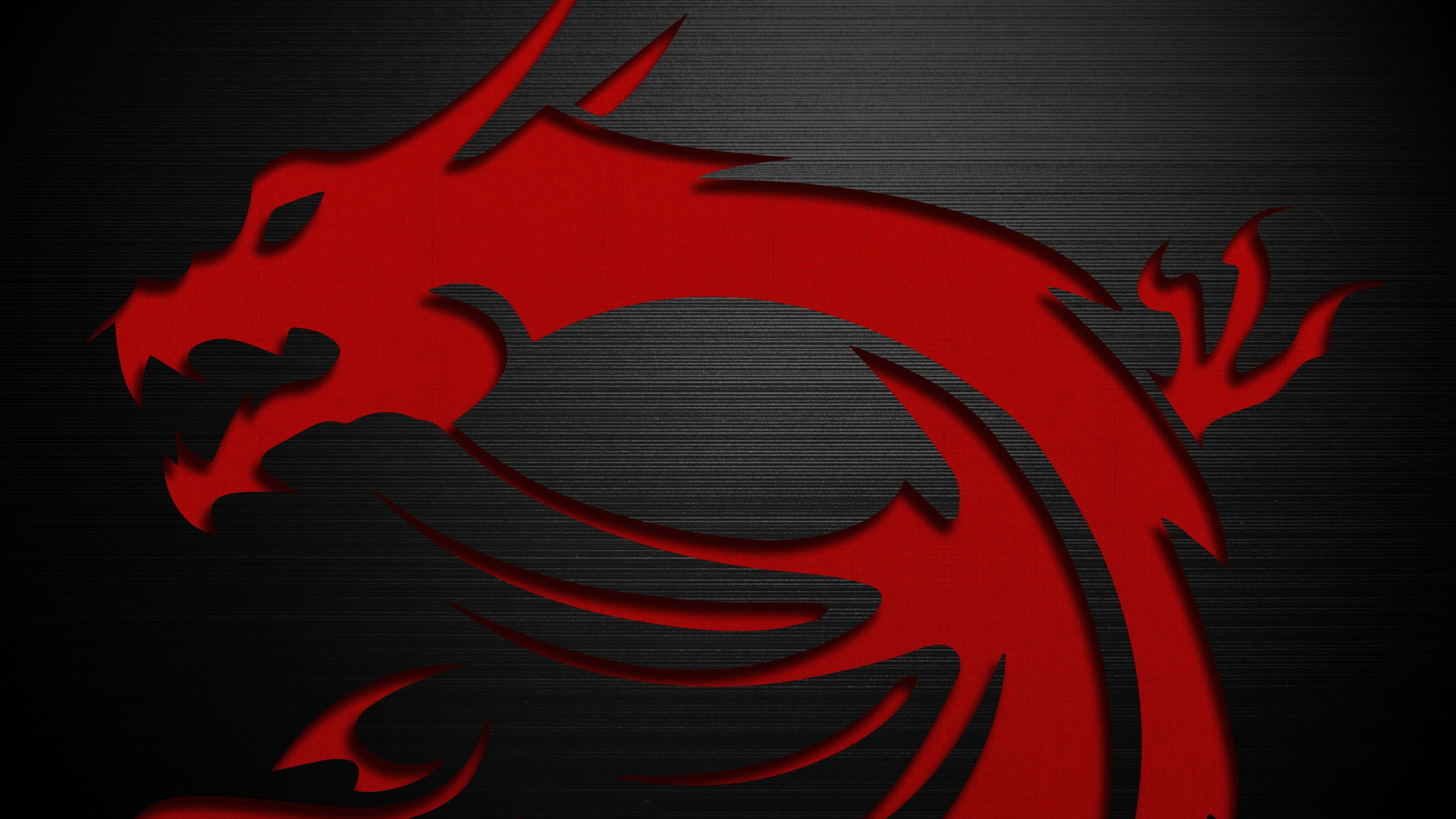 Dragon Hardware Logo Msi Pc Gaming Technology Texture 4k Wallpaper Hdwallpaper Desktop In 2020 Msi Graphic Card Wallpaper