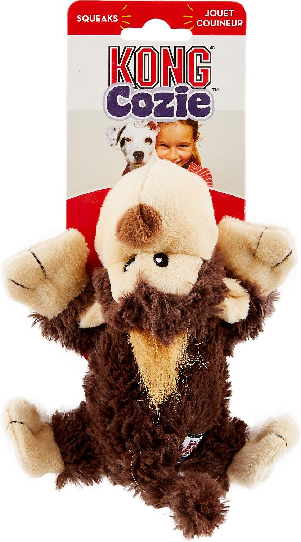 KONG Cozie Spunky the Monkey Dog Toy, Medium