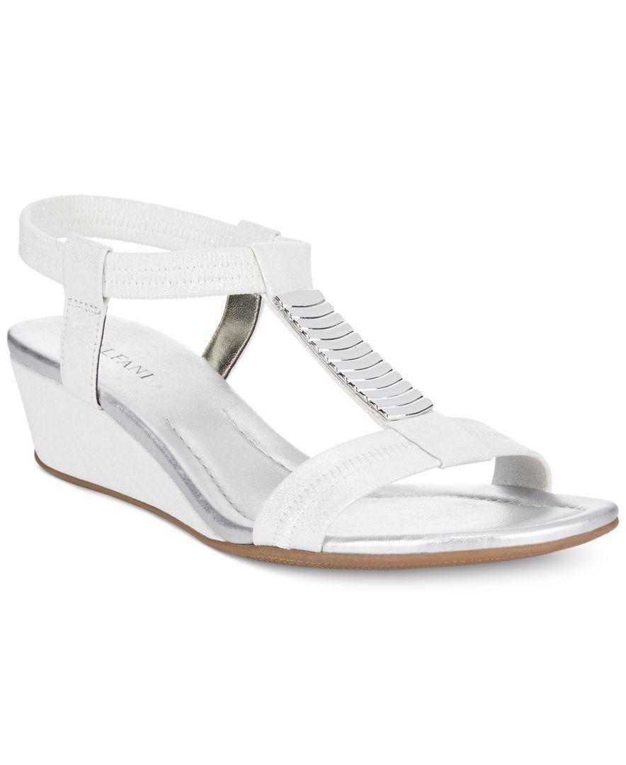 Alfani Women's Vacay Wedge Sandals