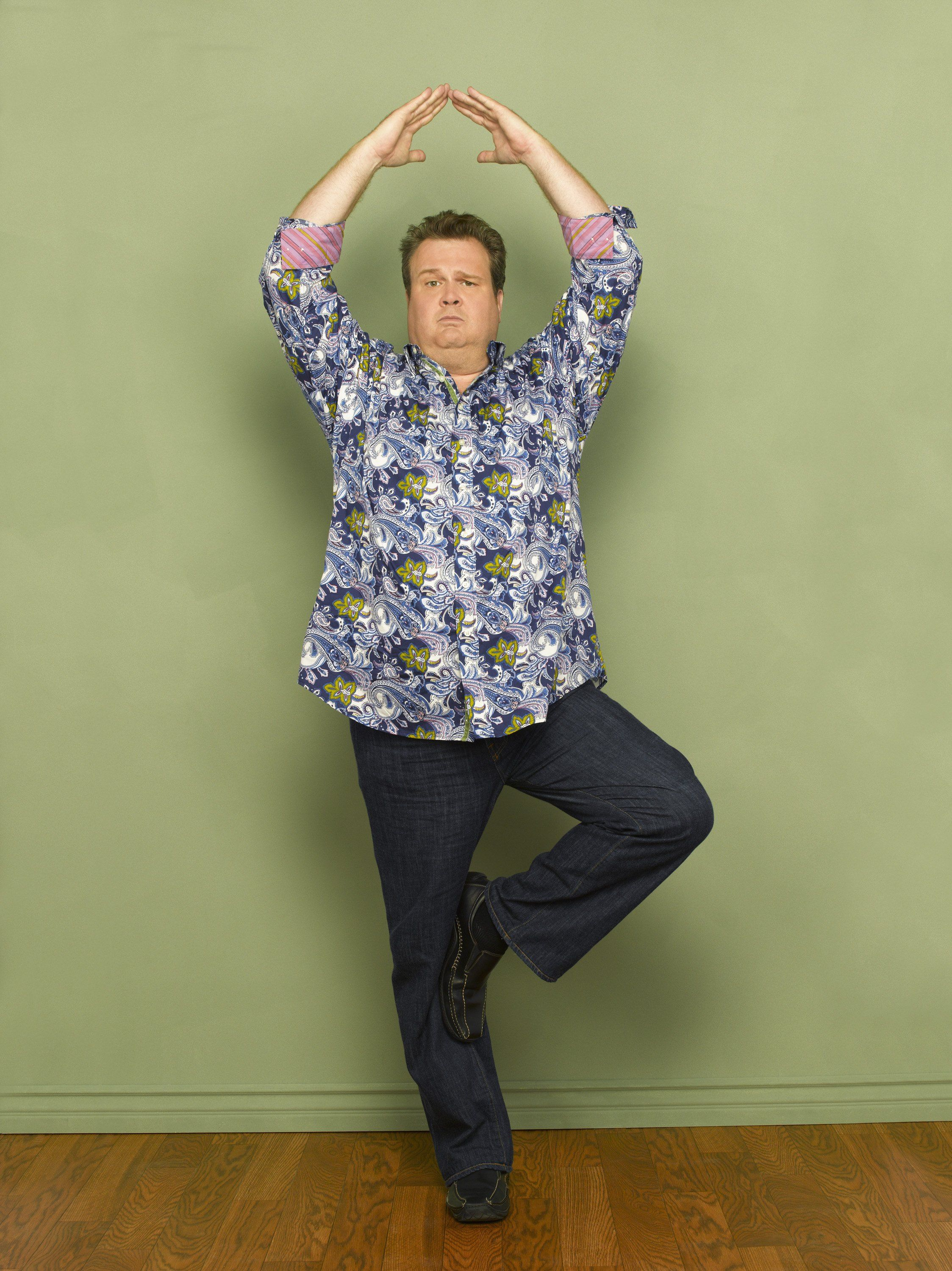 Take A Look At This Photo Of Eric Stonestreet As Cameron Tucker From The ABC Mockumentary Sitcom Modern Family