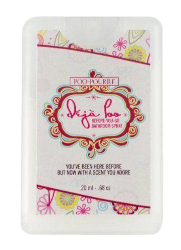 Deja Poo Pocket Sized Travel Bathroom Air Freshener Spritzer20Ml Fair Bathroom Air Freshener Inspiration
