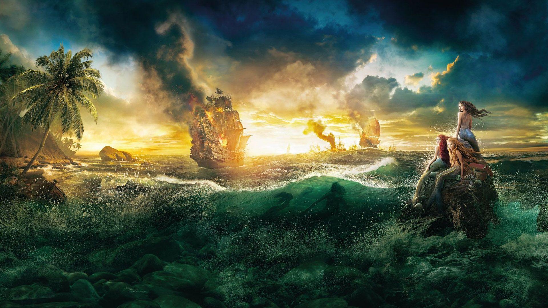Pirates Of The Caribbean On Stranger Tides Mermaid Wallpaper