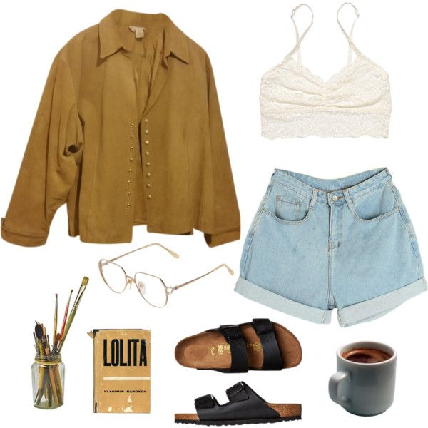 Morning Routine// Art Hoe By Molawho On Polyvore Featuring Coldwater Creek Victoriau0026#39;s Secret ...