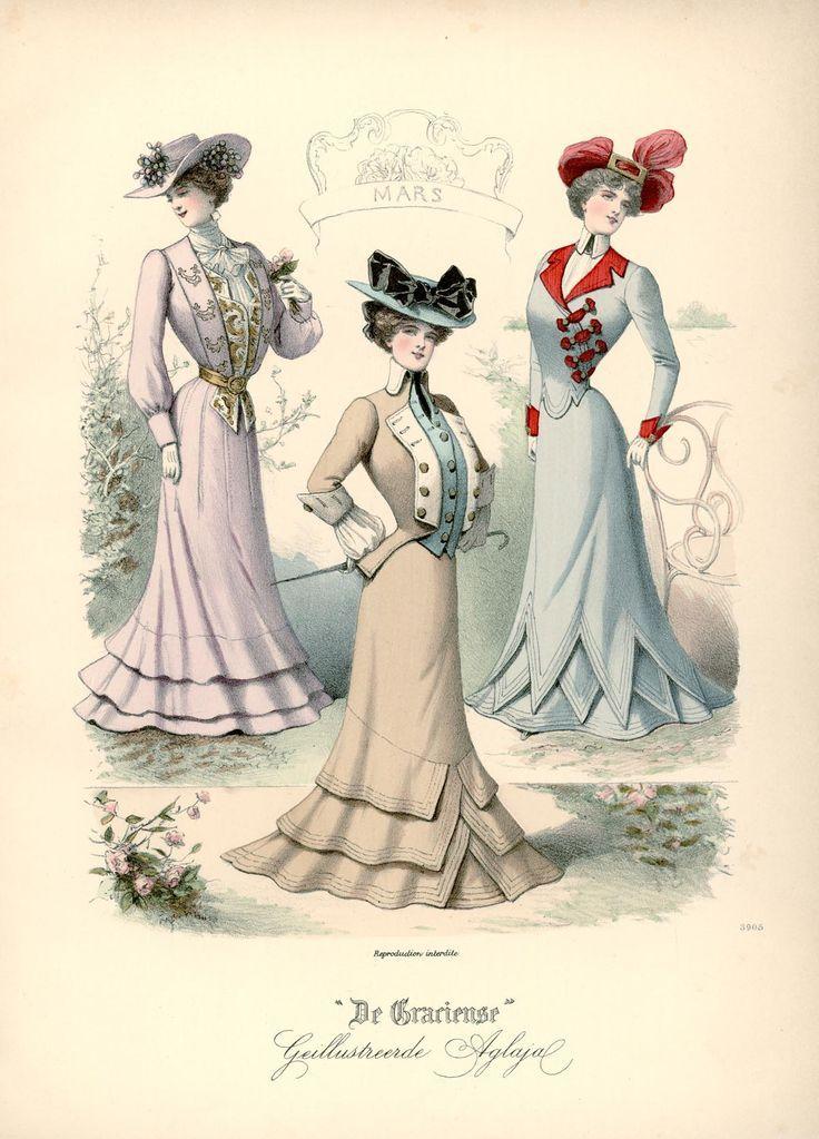 Gracieuse. Geïllustreerde Aglaja, 1901, aflevering 14, pagina 112/1 #edwardianperiod