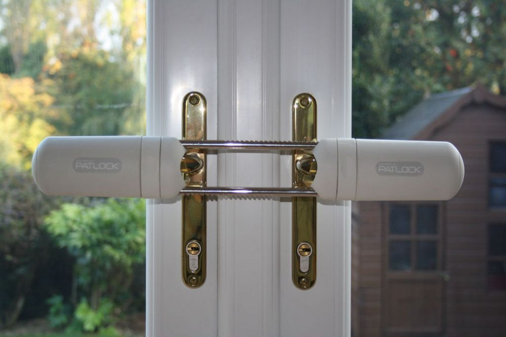 Patlock French Door Conservatory Double Door Security Lock Ebay