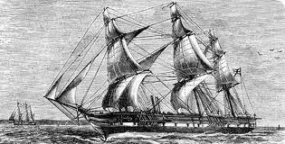The Hms Beagle Was The Ship Charles Darwin Sailed On Where He