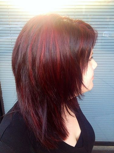 I consider this Jill's rock n' roll hair