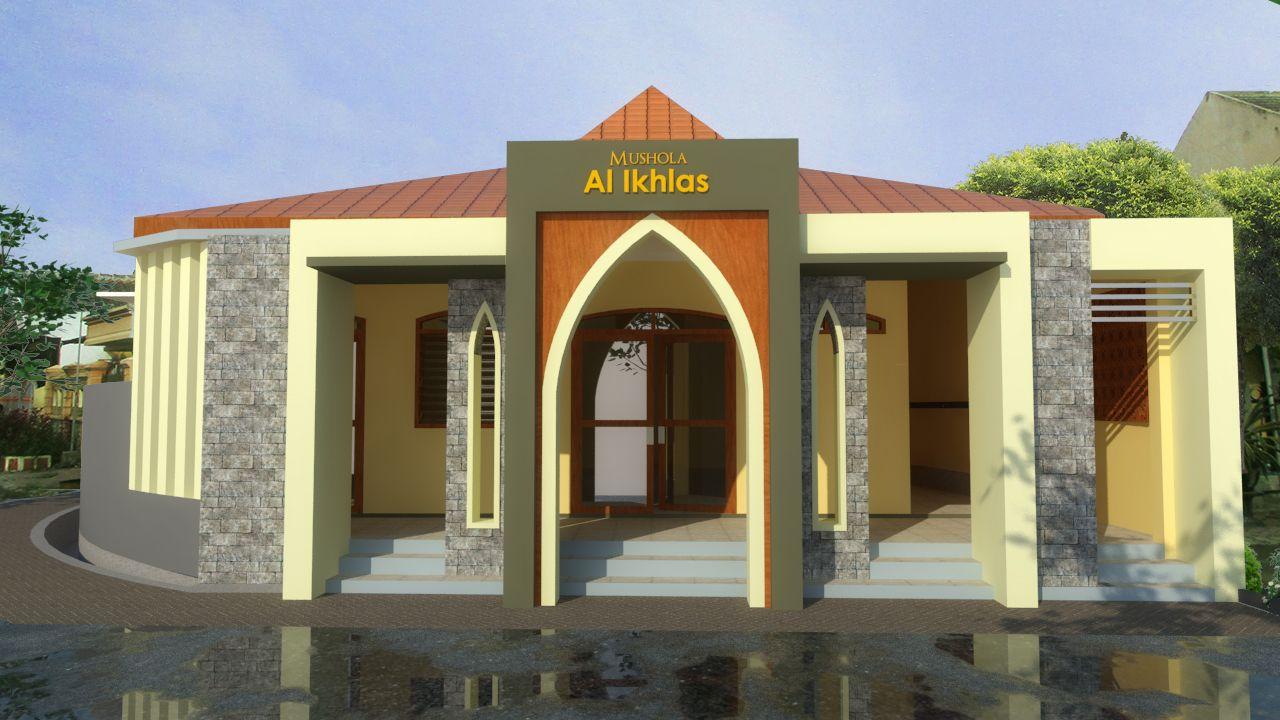 16 Gambar Masjid Kecil Richi Wallpaper Desain masjid kecil