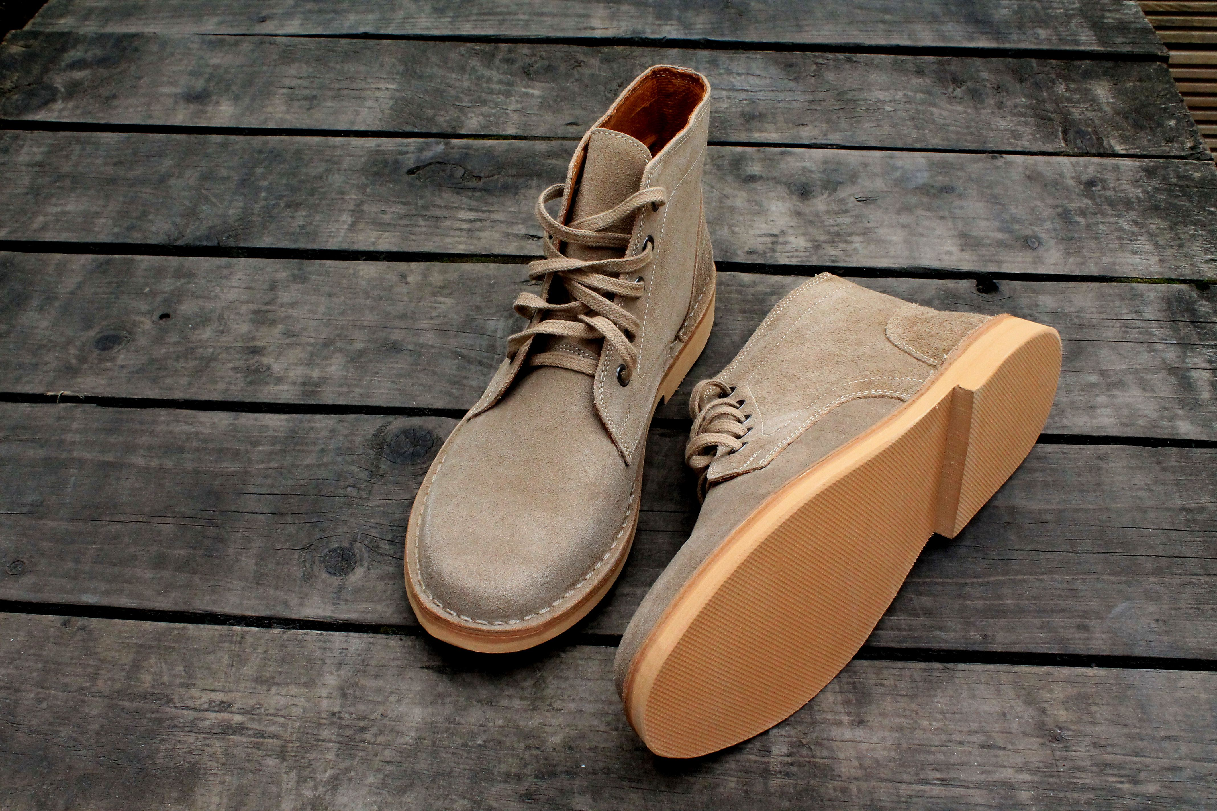 778be5ca2bfeb2 Military desert boots | Roamers Mens Desert Boots SARGENT Taupe ...