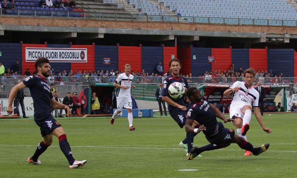 Cagliari tabte 0-1 til Palermo og rykker ned i Serie B!
