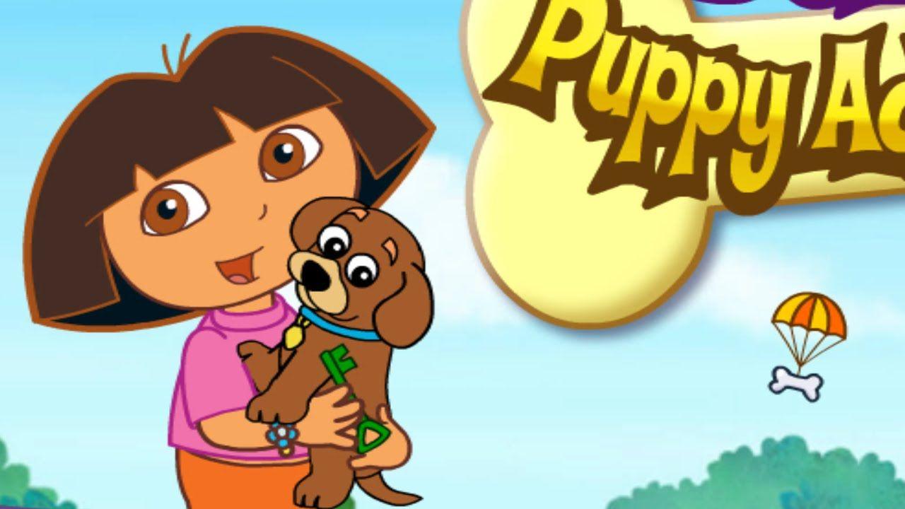 Dora\'s Puppy Adventure - Dora The Explorer | Dora Games Video For ...