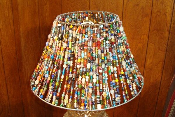 Beaded Lamp Shades Enchanting Beaded Lamp Shades Beaded Lamp Shade I Let There Be Light