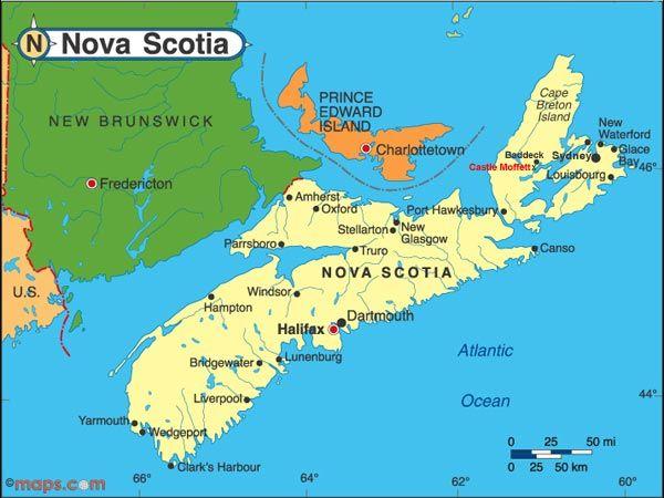 Cape Breton Island Map Canada Canada Maritimes 2011: Day 2 – Cape Breton Island (Chéticamp