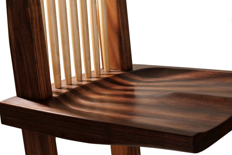 The Nakashima Conoid Chair Woodworking Inspiration Chair Table And Chairs
