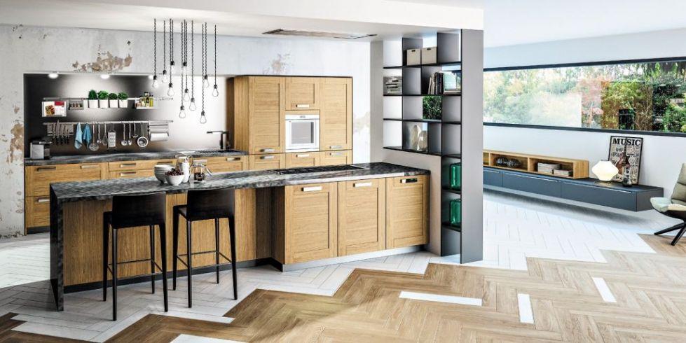 Cuisine En Bois Moderne.Modele Cuisine Bois Moderne Cuisine Design En Bois Cbel