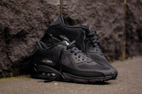 nike air max 90 all black