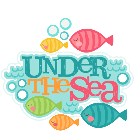 Freebie of the Day! Under the Sea Title Model/SKU ...
