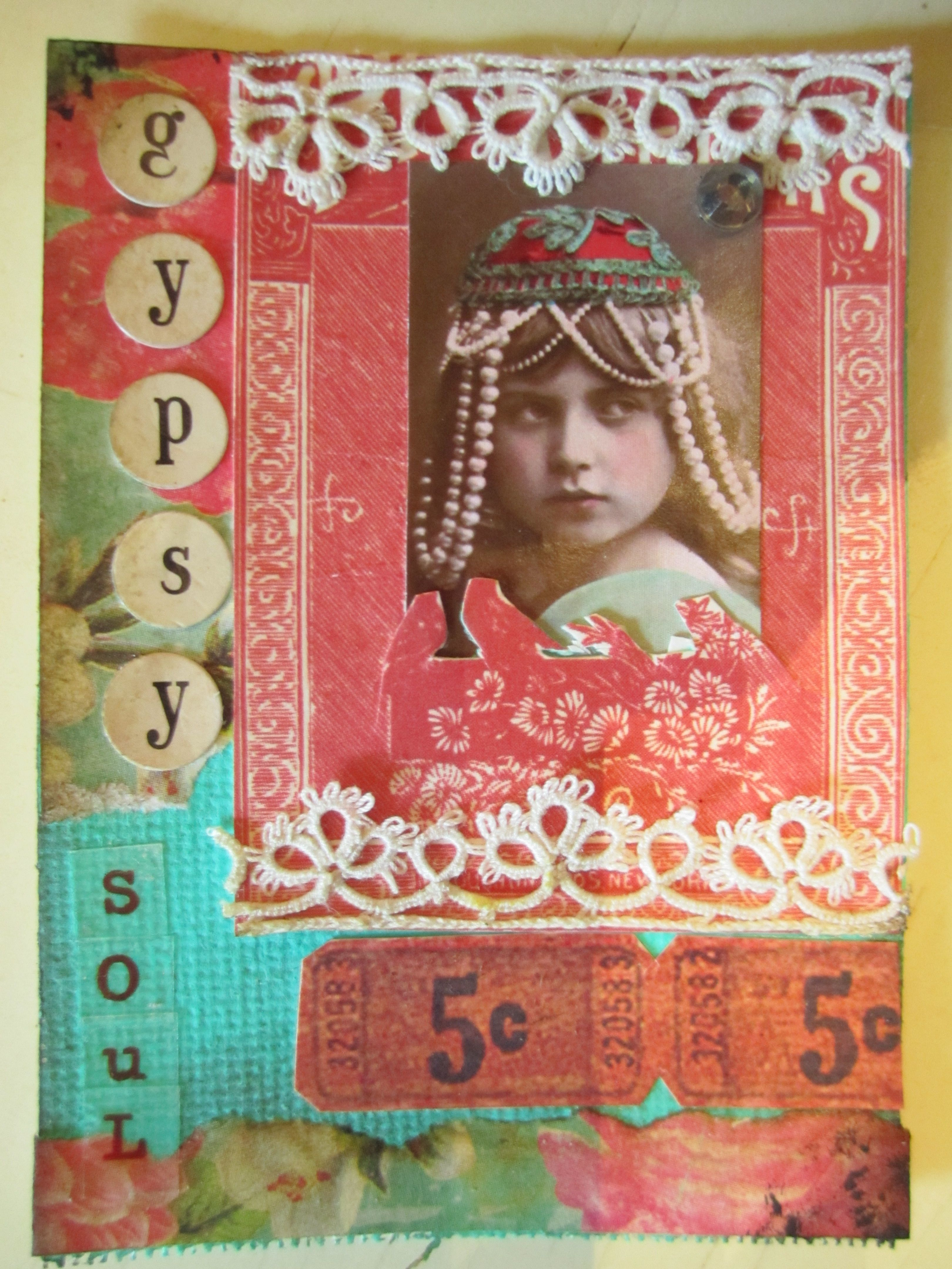 Artist Trading Card | My Artful Creations | Pinterest