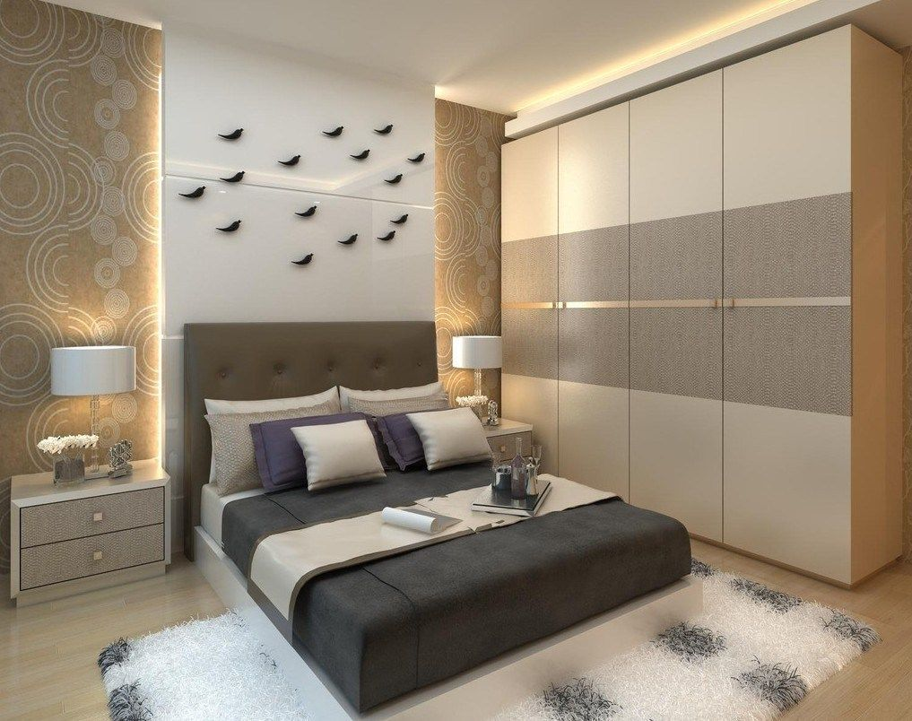 45 Comfortable And Suitable Wardrobe Design For Big Small Bedroom Wardrobe Design Bedroom Bedroom Design Trends Bedroom Furniture Design
