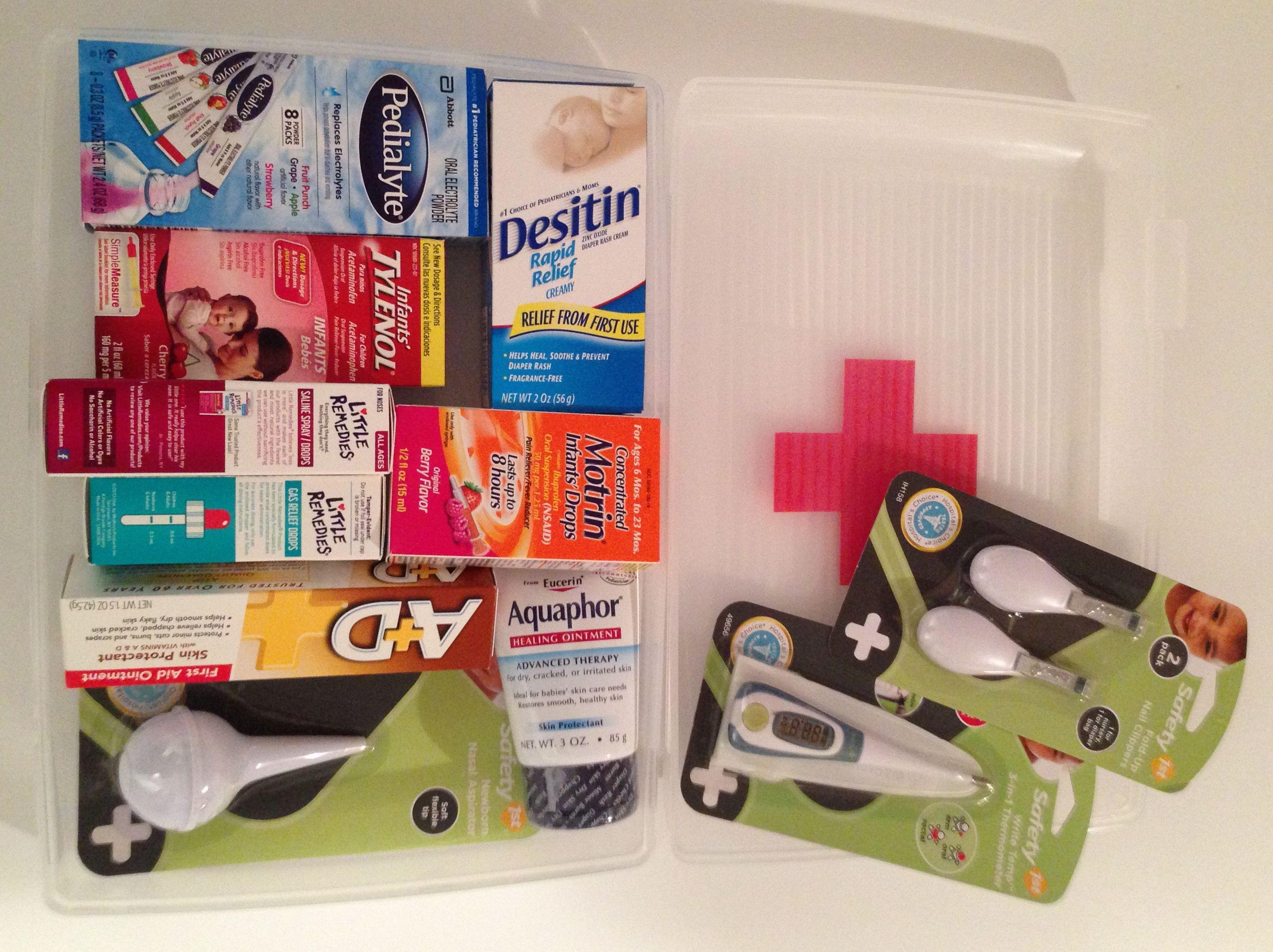 Our Diy Baby Shower Gifts Newborn First Aid Kit Diy Baby Shower Gifts Thoughtful Baby Shower Gifts Diy Baby Stuff